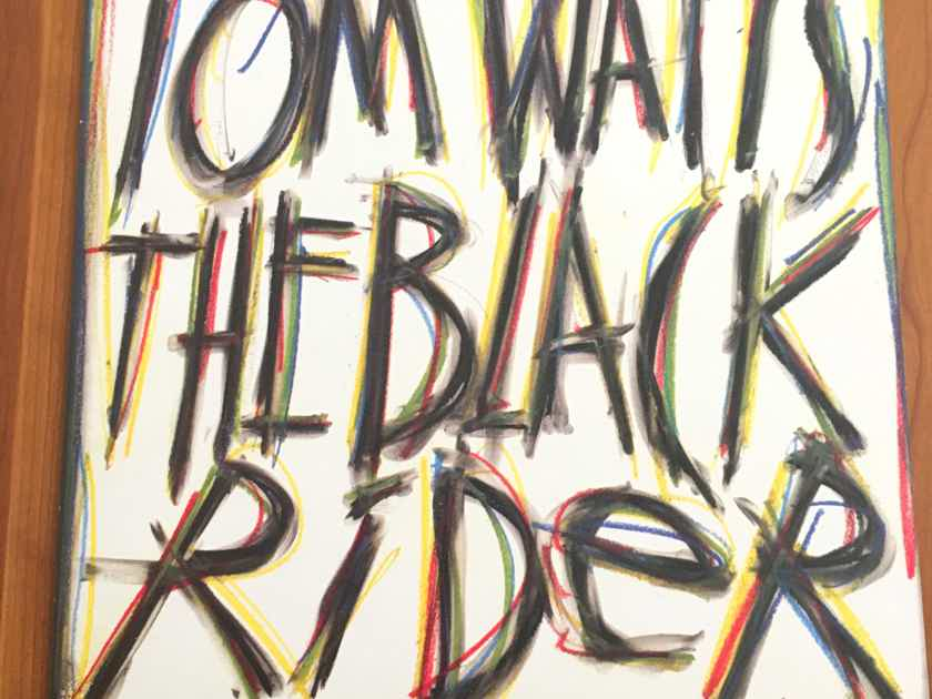 "MEGA RARE TOM WAITS ""The Black Rider"" ORIG 1993 Island UK/Euro Release... $120"