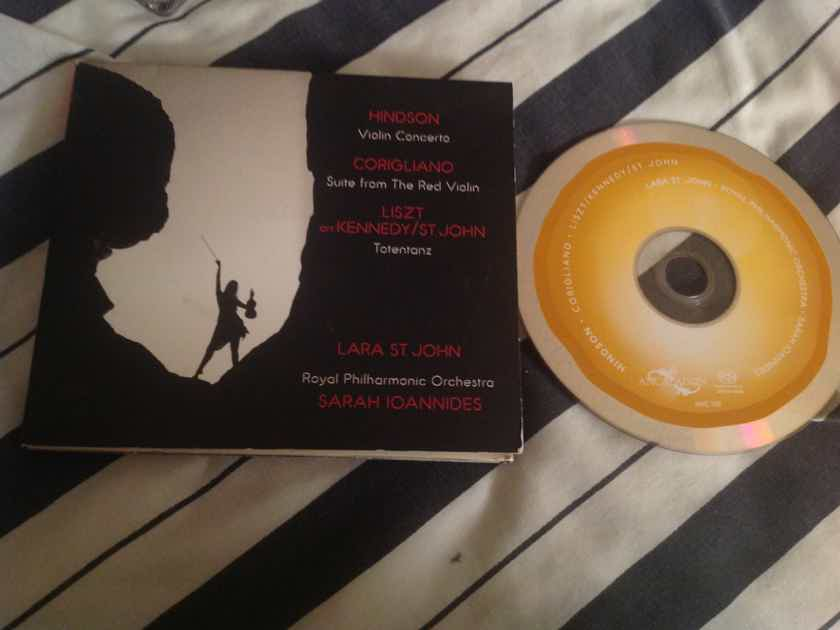 Lara St. John Hindson Violin Concerto SACD Super Audio