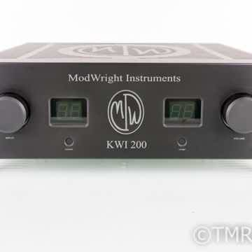 Modwright KWI 200 Stereo Integrated Amplifier