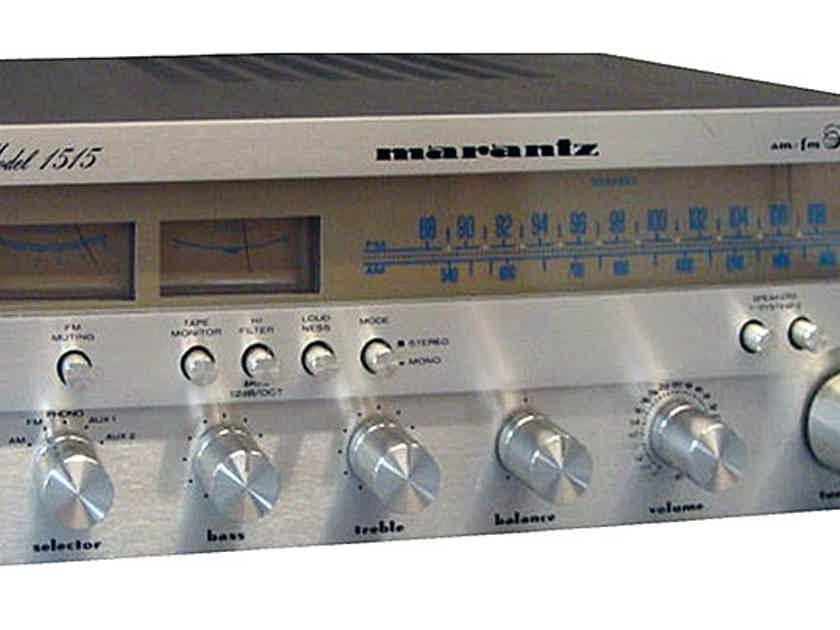Marantz 1515 Stereo Receiver (Silver): Excellent Trade-In; w/Warranty