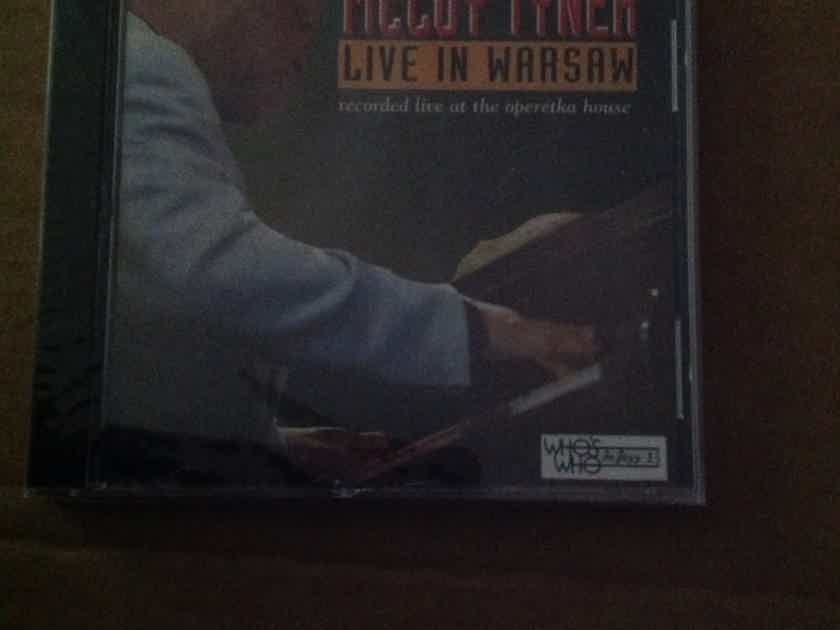 McCoy Tyner - Live In Warsaw Who's Who In Jazz Records Sealed Compact Disc