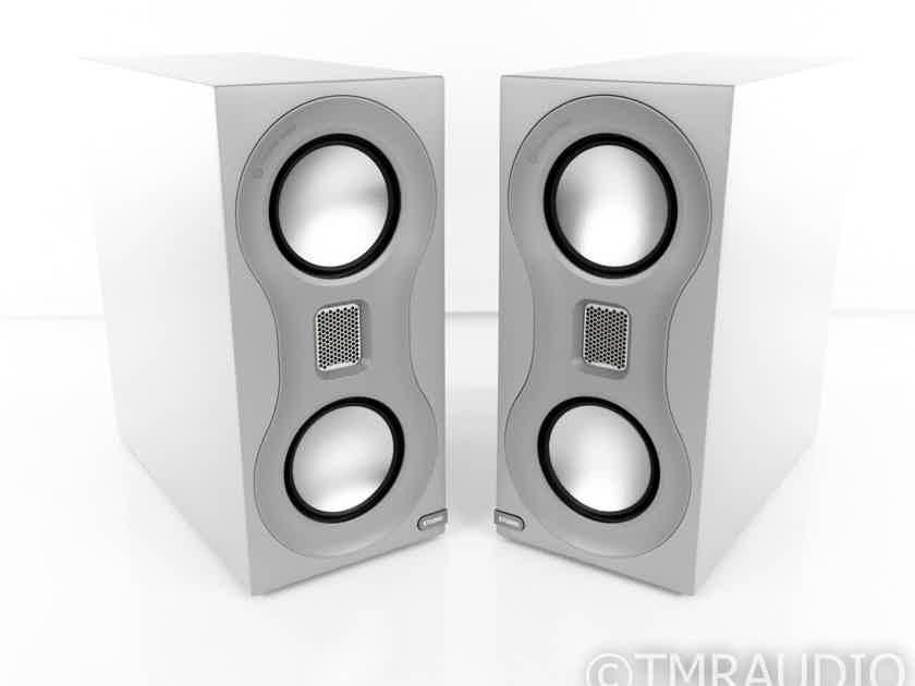 Monitor Audio Studio Bookshelf Speakers; Satin Gray Pair (21448)