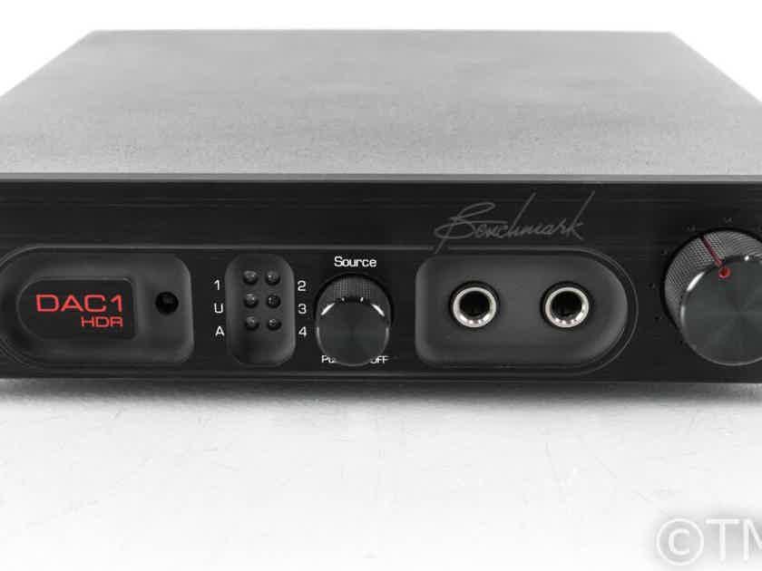 Benchmark DAC1 HDR DAC; D/A Converter; Headphone Amplifier; Remote (21726)