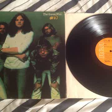 The Guess Who  #10 RCA Records First Pressing Dynaflex ...