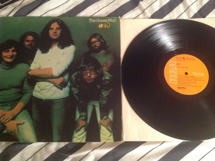 The Guess Who  #10 RCA Records First Pressing Dynaflex Vinyl