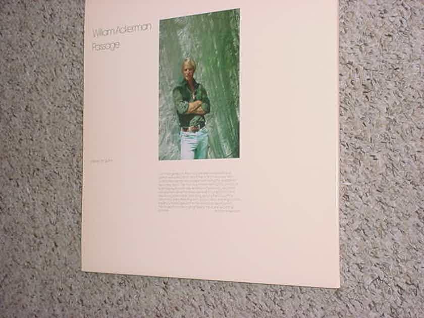 1981 Windham Hill jazz - LP Record WH-1014 William Ackerman Passage