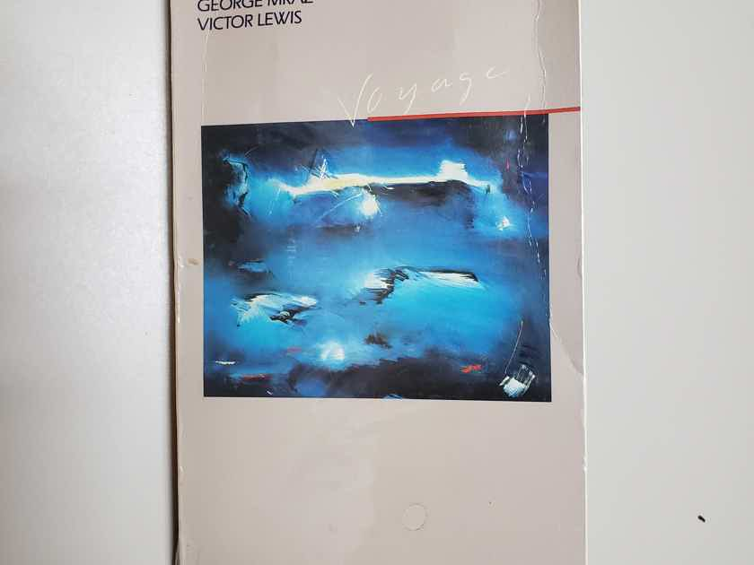 Stan Getz Voyage Brand New Sealed 1986 first edition long box