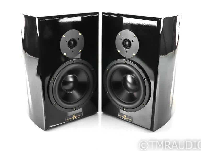 Gershman Acoustics Studio II Bookshelf Speakers; Gloss Black Pair; Studio 2 (27993)