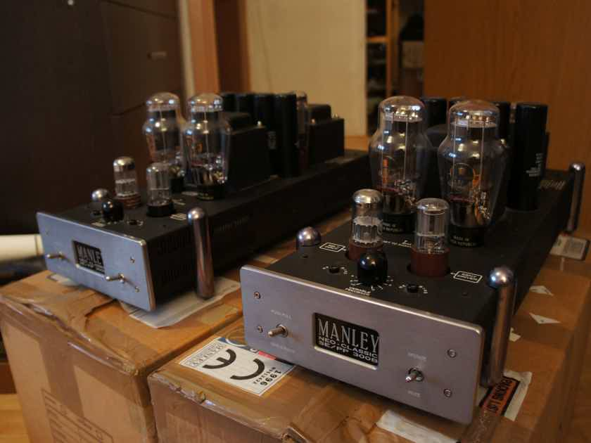 "Manley Laboratories ""Retro"" SE/PP 300B Monoblock Tube Amplifier Pair"