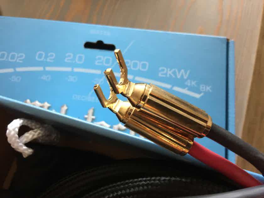 McIntosh CS3M Speaker Cables - (2) meter pair!