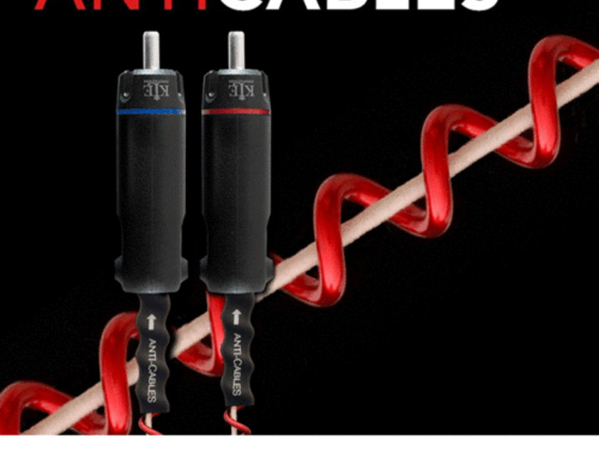 """ANTICABLES Level 4.2 """"Reference PLUS"""" Analog  RCA Interconnects"""