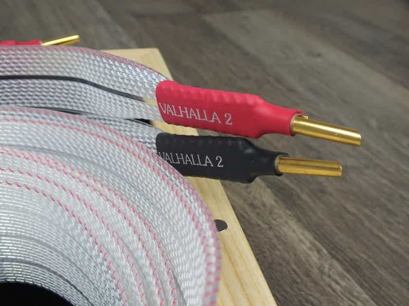 Nordost Valhalla 2 speaker cables 2,5 metre BRAND NEW