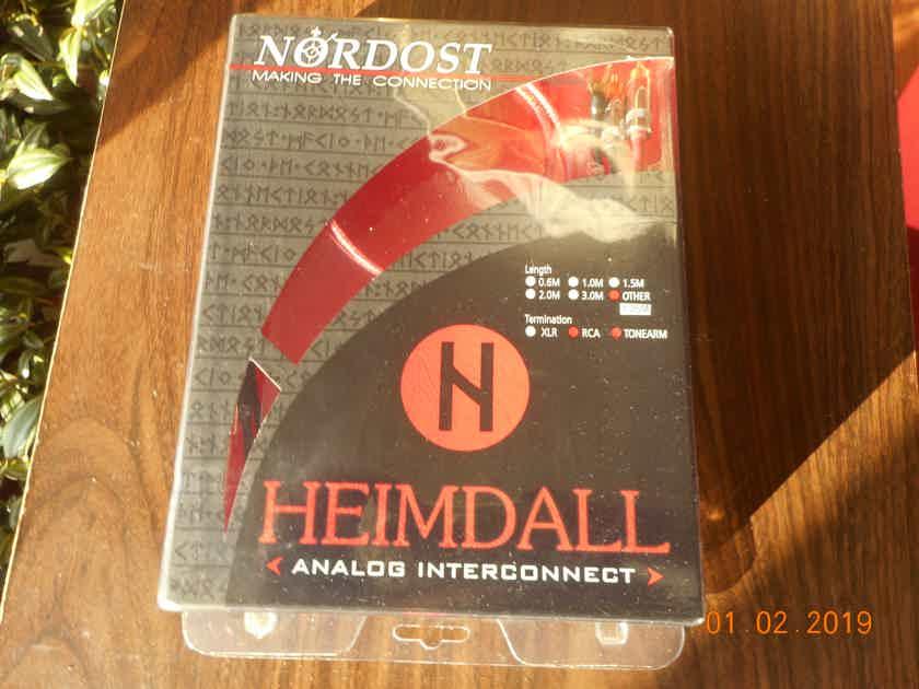 Nordost Heimdall Tonarm Cable RCA 1.25M