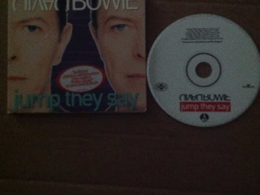 David Bowie - Jump They Say 6 Track Compact Disc EP Savage Records