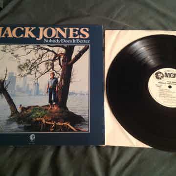 Jack Jones Nobody Does It Better White Label Promo LP