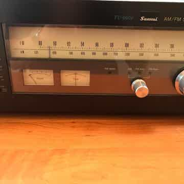 Restored and Upgraded Sansui TU9900 AM/FM Tuner