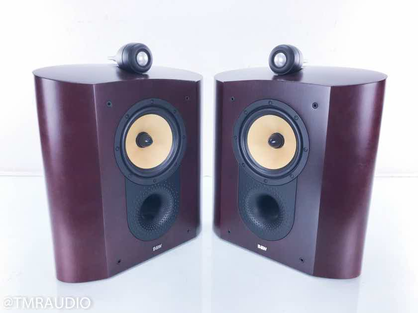 B&W Nautilus SCM1 Wall Mount Surround Speakers On-Wall; Red Cherry Pair (14877)