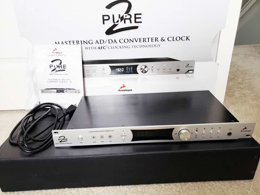 Antelope Audio Pure 2 - Master Clock, USB Converter, and DAC (for dCS, Esoteric)