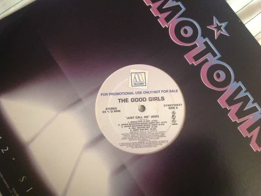 The Good Girls Just Call Me Motown Records Promo 12 Inch EP