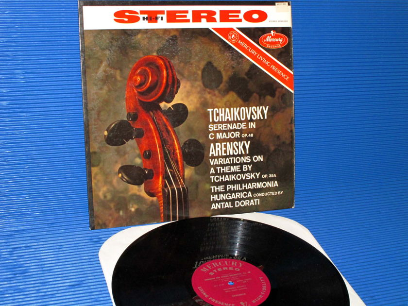 "TCHAIKOVSKY / Dorati   - ""Serenade in C Major"" - Mercury Living Presence 1959 Early Pressing"