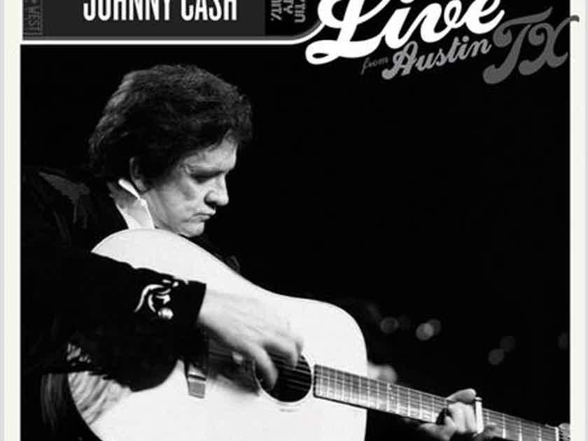 Johnny Cash Live in Austin Texas