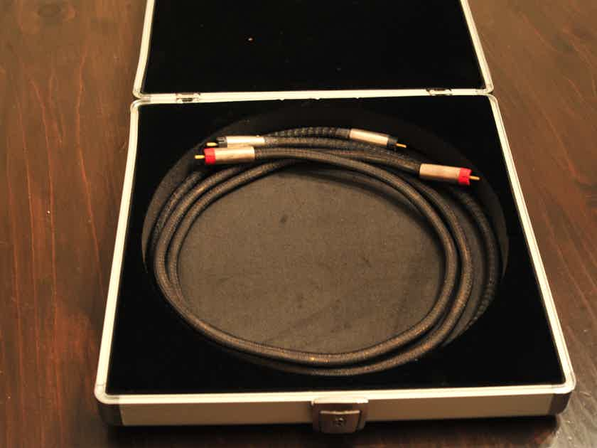 Silversmith Audio Silver 3 ft RCA Interconnect