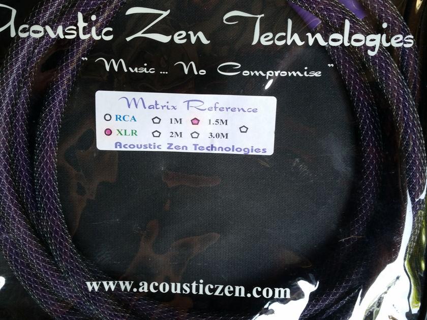 Acoustic Zen Technologies Matrix Reference 11 1 & 1.5 xlr IC's,