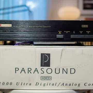 Parasound DAC-2000 - D/AC-2000 - VG condition