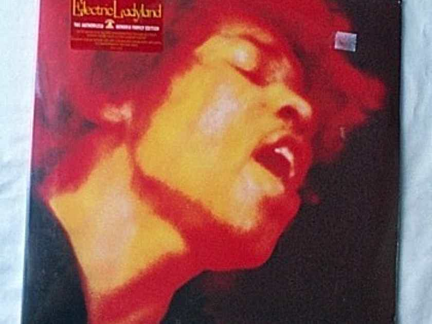 JIMI HENDRIX EXPERIENCE 2LP set-- - Electric Ladyland-- rare 1997 SEALED UK album--Family Hendrix