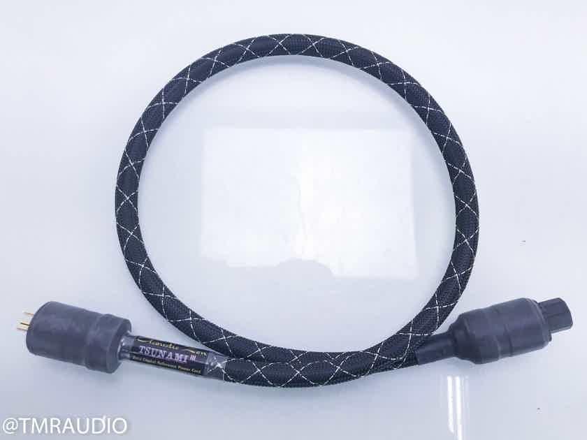 Acoustic Zen Tsunami III Power Cable; 4ft AC Cord (15929)