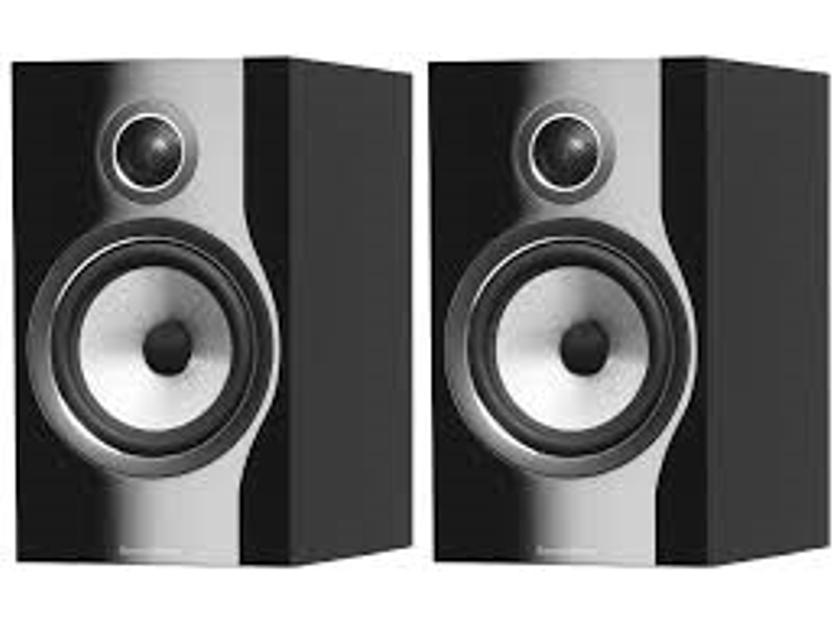B&W (Bowers & Wilkins) 706 S2 Gloss Black / 1pr – NEW & UNOPEN/Warranty