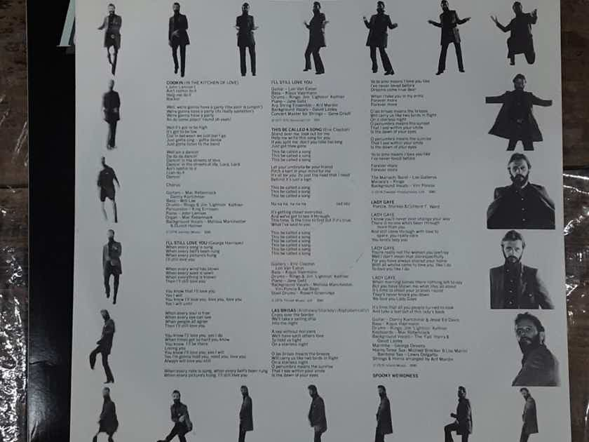 Ringo Starr - Ringo's Rotogravure 1976 NM- Vinyl LP Atlantic SD 18193