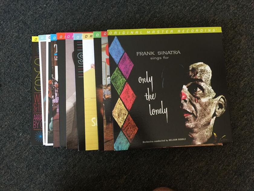 Frank Sinatra  - Mobile fidelity Mofi  Lot of 11 mint albums
