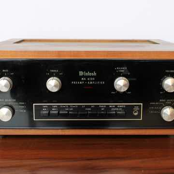 McIntosh MA6100 Integrated Amplifier w/ Wooden Case