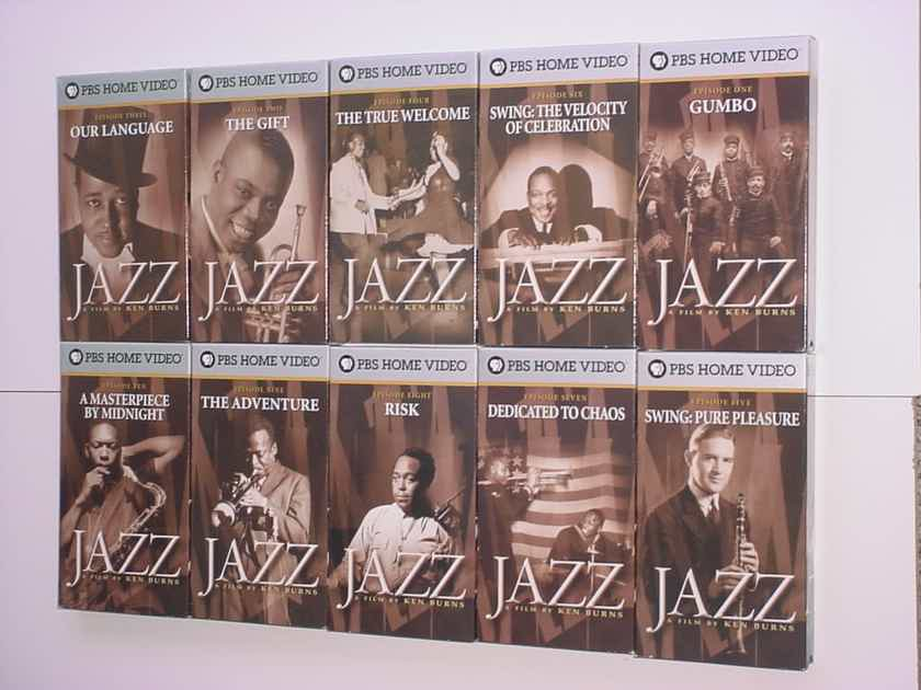JAZZ A Film by Ken Burns 10 VHS TAPE SET see add year 2000