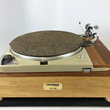 Thorens TD-124 with Thorens Plinth and Restored SME3009...