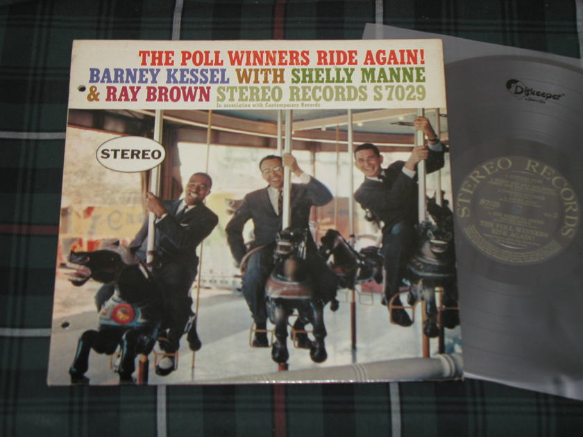 Shelly Manne/Barney Kessel/Ray Brown - The Poll Winners Ride Again STEREO Records S7029  Super Sound