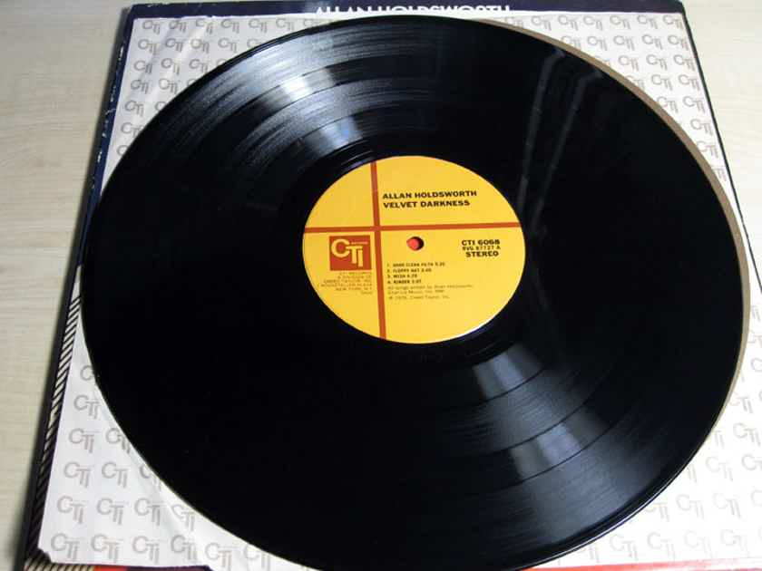 Allan Holdsworth - Velvet Darkness - Original 1976 VAN GELDER Mastered  CTI Records CTI 6068