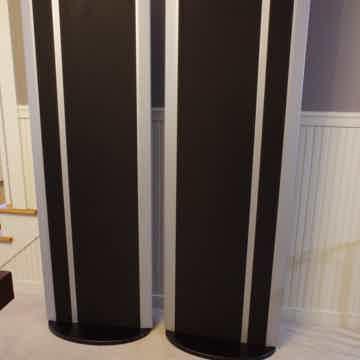 MAGNEPAN MG 3.7i Speakers Magneplanar Black / Silver F...