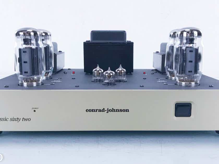 Conrad Johnson CL62SE Stereo Tube Power Amplifier Classic Sixty Two (14084)