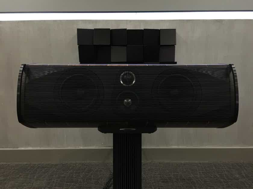 Sonus Faber Olympica Center in Walnut with Stand