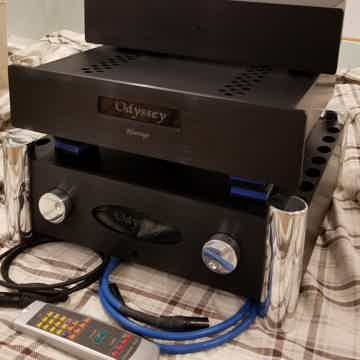 Odyssey Audio Kismet Integrated Tube Preamp Monoblocks ...