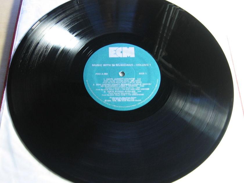 Various ECM Records Artists - Music With 58 Musicians, Volume One  - 1980 ECM Records Sampler PRO-A-850