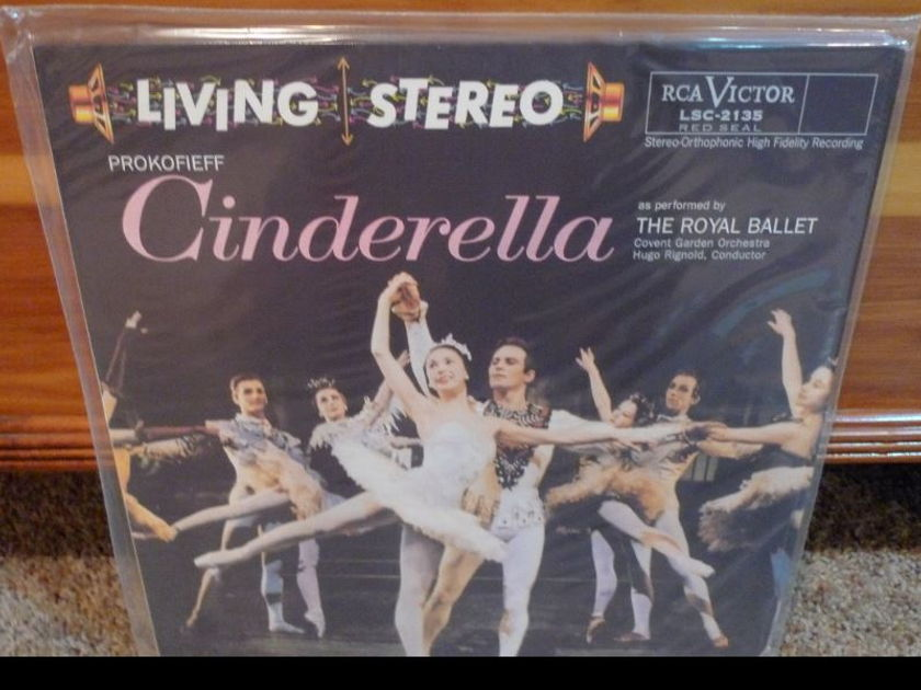 Royal Ballet/Covent Garden Orch. - Prokieff Cinderella lsc2135 Classic Records original reissue 180G 1990's Sealed