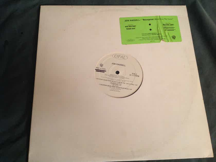Jon Hassell Voiceprint(Blind From The Facts) Opal Records Promo 12 Inch EP