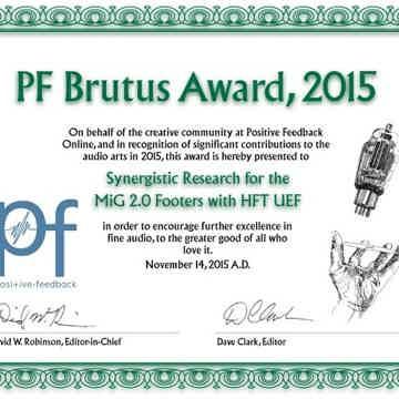 PFO Brutus Award 2015