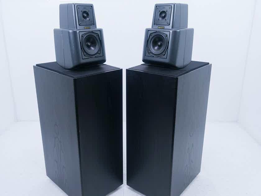KEF Reference Model 107 Floorstanding Speakers Vintage Black Pair (14611)