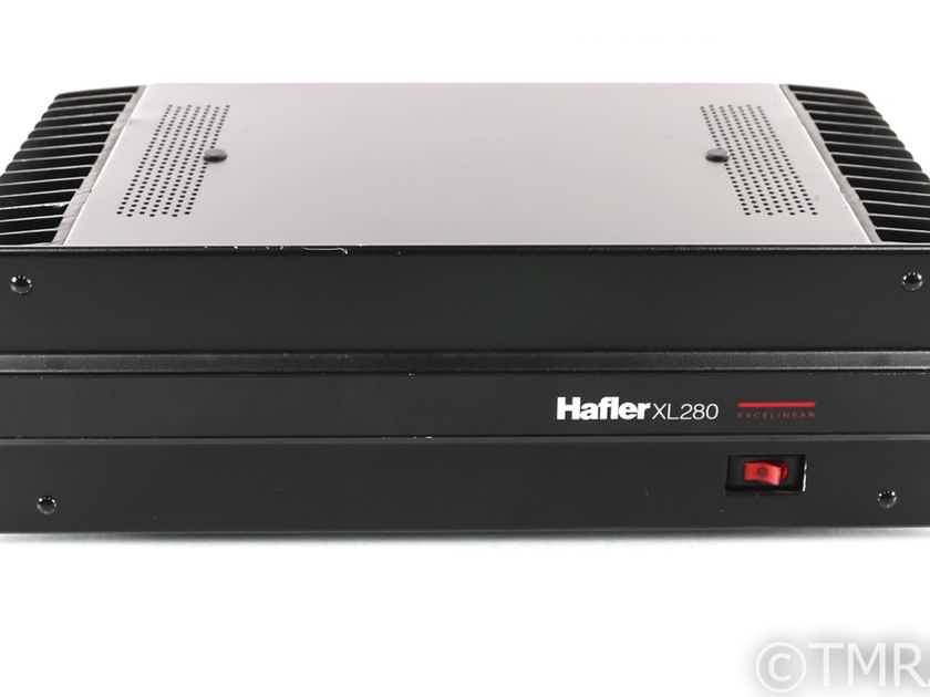 Hafler XL280 Stereo Power Amplifier; XL-280 (28532)