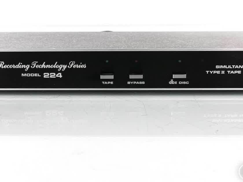 DBX Model 224 Tape Noise Reduction System (19719)