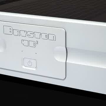 Clear, Crisp, Powerful Amp, Silver 300wpc